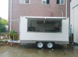 Soporte del helado del acoplado/del carro del carro del alimento de Churros