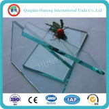 Un prix clair en verre de flotteur en verre 12.5mm de pente