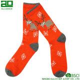 Süßigkeit-Schnee-frohe Weihnacht-Kleid-Schweiss-Socken