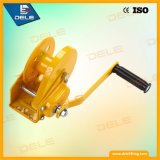 Treuil manuel de main de frein du treuil C de câble métallique