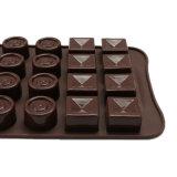 УПРАВЛЕНИЕ ПО САНИТАРНОМУ НАДЗОРУ ЗА КАЧЕСТВОМ ПИЩЕВЫХ ПРОДУКТОВ И МЕДИКАМЕНТОВ аттестует прессформу силикона качества еды материальную, по-разному прессформу /Chocolate прессформы пудинга силикона формы 3