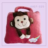 Ammortizzatore popolare sveglio del cuscino della scimmia con l'animale