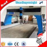 Máquina de corte de agua de Yuanhong 2m * 3m tabla de corte con bomba de intensificador.