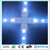 Conector con clip 4pin RGB del acoplador de Solderless para la luz de tira de 5050 LED