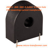 2000: 1 40A 50ohm PCB die van het Gat 0.2calss 6.5mm Huidige Transformator opzetten