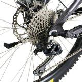 セリウムの先フレームによって隠される電池1000W電気山の自転車
