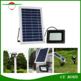 luz solar al aire libre impermeable solar del jardín del alto brillo del reflector IP65 54LED de la luz de inundación 5W