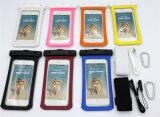 Waterdichte Zak de Van uitstekende kwaliteit van pvc met de Armband van de Haak voor Slimme Telefoon 4.7inch (wb-V3)