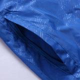 Le bici di riciclaggio esterne di offerta speciale impermeabilizzano il cappotto di pioggia del rivestimento dei vestiti della pelle