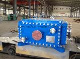 Échangeur de chaleur à plaques et châssis industriels à double phase / Type de plaque soudée Échangeur de chaleur / Structure bloc ou bloc compacte