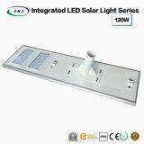 고성능 한세트 태양 LED 가로등 120W