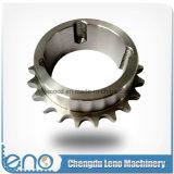 Roda dentada Chain de aço de única costa C45