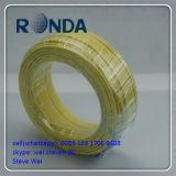 Fio elétrico da isolação vermelha do PVC do círculo 300/500V