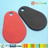 13,56 MHz Imprimé MIFARE Classic 1K Nylon RFID Overmolded Keyfob