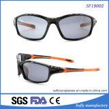 새로운 옥외 형식 Black& 주황색 스포츠는 Eyewear를 순환하는 안전 색안경을 극화했다