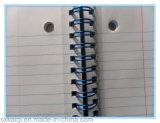 Cahier de cahier de boucle de fil de fer galvanisé par grippement de Yo