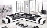 가정 가구 새로운 디자인 거실 가죽 소파는 놓았다 (HC2013)