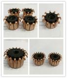Hakenförmiger Kommutator für elektrischen Gerätemotor mit niedrigem Preis (ID3.988mm OD8.646mm L4.24mm 13Hooks)