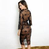 China-preiswerter schneller Anlieferungs-Großverkauf-hochwertige heiße Verkaufs-schwarze Frauen-reizvolle Wäsche