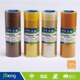 Rullo del nastro di pellicola a pacco di BOPP con l'adesivo acrilico giallo del Brown/