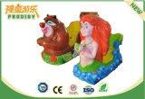 Монетка привелась в действие электрическую машину игры езды малышей Mermaid