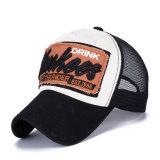 Бейсбольная кепка сетки джинсовой ткани хлопка вышивки заплаты способа (YKY3424)