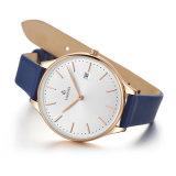Montre analogique occasionnelle élégante 71279 de bracelet de montre-bracelet d'acier inoxydable de quartz de dames de mode