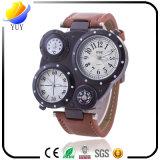 Montre-bracelet du quartz de l'homme de mode de qualité et montre de sport