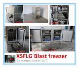 Congelador da explosão da carne 35 graus