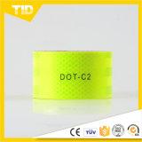 Leuchtstoff gelbes reflektierendes Band des Grün-DOT-C2