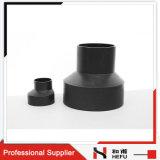 Zoll sortiert der 75-50mm Exzenter HDPE Kupplung-Rohr-konzentrisches Reduzierstück