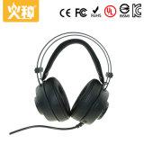 Hz-123 no auscultadores dos auriculares do jogo da orelha pode adicionar o flash e agitá-lo
