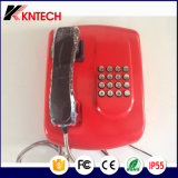 Telefone de serviço público da operação bancária do telefone Knzd-04 Kntech da ajuda