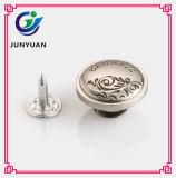 Tous les types jeans de boutons en métal boutonne des boutons de pointe en métal de rivets pour des jeans