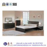 Het witte Meubilair van de Slaapkamer van de Melamine van het Eenpersoonsbed van de Kleur van China (SH041#)