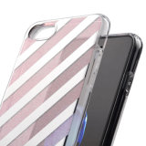 IMD Impression Shock Absorbant Soft Flexible TPU Transparent Skin Scratch-Proof Ultra Slim Case pour iPhone 6 / 6s Plus