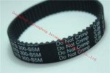 SMTの予備品300-S5m-20の黒いゴム製タイミングベルト
