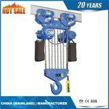 grua Chain elétrica de velocidade 20t dupla com trole elétrico