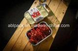 Envase de alimento disponible del papel de aluminio de la microonda 1035ml