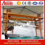 Grue professionnelle de traitement extérieur pour l'usine d'enduit de anodisation en aluminium de poudre