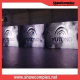 pantalla de visualización de interior de LED de 4m m