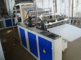 Vier Zeile kalter Ausschnitt-Shirt-Beutel, der Maschine herstellt