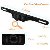 Alta mini cámara ocultada de opinión trasera de la visión nocturna del coche de la asignación los 3m IR del Wdm