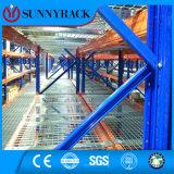 Plataforma galvanizada do engranzamento de fio para a prateleira do armazenamento do metal