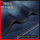 Tissu de denim de la vente directe 75%Cotton 23%Polyster 2%Spandex d'usine de tissu de jeans