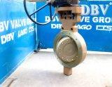 Меняемый металл вафли места для того чтобы Metal втройне ексцентрическая клапан-бабочка