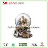 Estatuilla pintada a mano del globo de la nieve del regalo del arte de Polyresin para el regalo casero de la decoración y del recuerdo