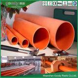 CPVC Tubería / Tubería de PVC para cable subterráneo Cased Protect Pipe