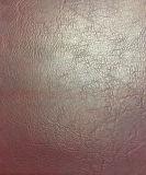 Venda quente couro artificial gravado para sapatas, vestuário do plutônio do teste padrão, decoração. (HS-Y44)