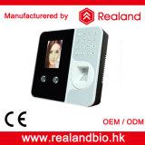 Enregistreur d'horloge de service de temps de biométrie d'empreinte digitale de Realand F491